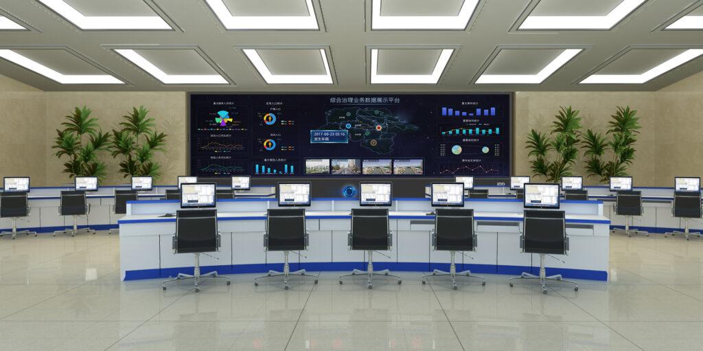 iDD智能显示大屏幕在指挥中心的应用