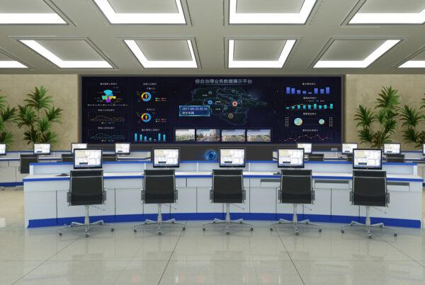 iDD智能显示大屏-指挥中心-1